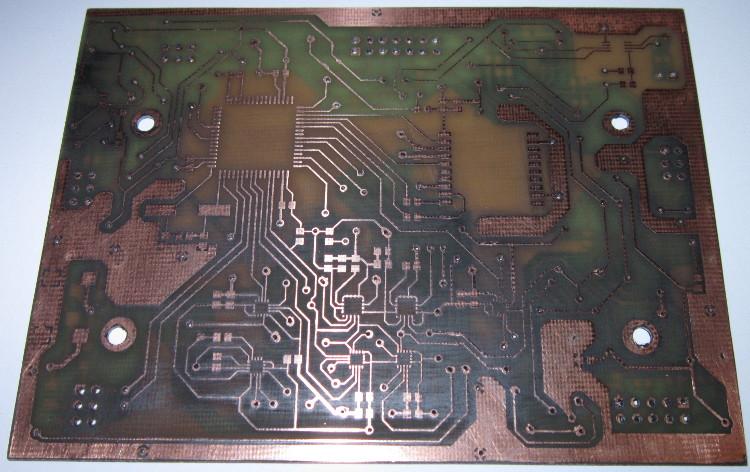 Wykonane PCB